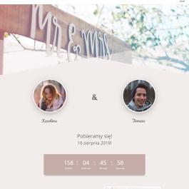 Ślubna strona internetowa